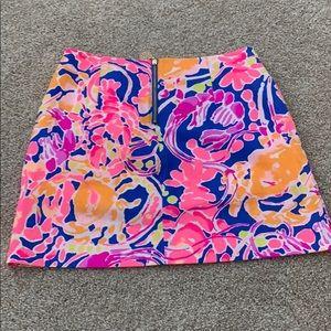 Lilly Pulitzer neon mini skirt